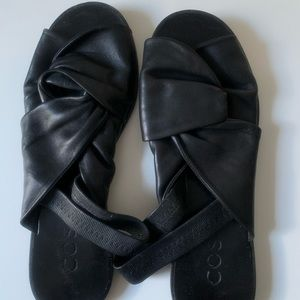 COS leather sandals